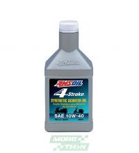 น้ำมันเครื่อง Amsoil Formula 4-Stroke Synthetic 10W-40 Scooter Oil
