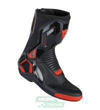 รองเท้า Dainese รุ่น Course D1 Out Boots Leather Black/Red-Fluo