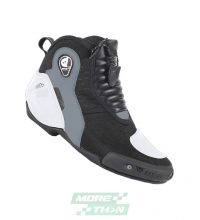 รองเท้า Dainese รุ่น Dyno D1 Shoes Leather Black/White/Anthracite