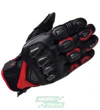 ถุงมือ TAICHI รุ่น RST422 High Protection Leather Glove Black/Red