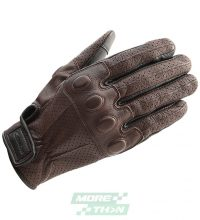 ถุงมือ TAICHI รุ่น RST435 TT Leather Mesh Glove Brown/Black