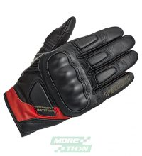 ถุงมือ TAICHI รุ่น RST445 Stealth Leather Glove Black/Red